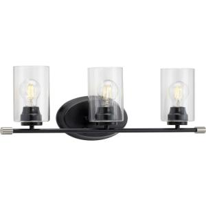 Riley - 3 Light - Cylinder Shade in Modern style - 25.25 Inches wide by 8.25 Inches high