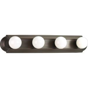 Broadway - 4 Light in Traditional style - 24 Inches wide by 4.63 Inches high