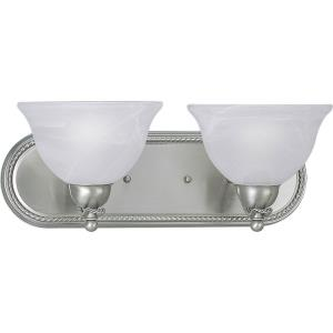 Avalon - 2 Light in Transitional and Traditional style - 18 Inches wide by 7 Inches high