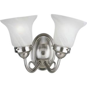 Bedford - 2 Light in Traditional style - 14.5 Inches wide by 8.5 Inches high