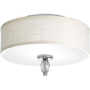 Status - Close-to-Ceiling Light - 2 Light in Coastal style - 13 Inches wide by 8 Inches high