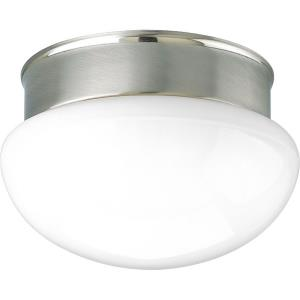 "9.5"" Two Light Flush Mount"