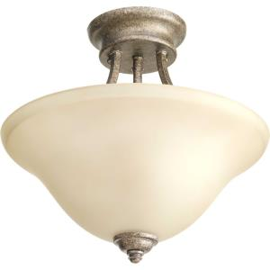 Spirit - Two Light Semi-Flush Mount