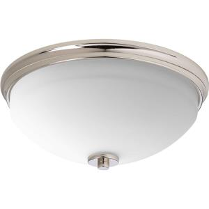 Replay - 5.75 Inch Height - Close-to-Ceiling Light - 2 Light - Bowl Shade - Line Voltage - Damp Rated