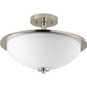 Replay - 10.125 Inch Height - Close-to-Ceiling Light - 2 Light - Bowl Shade - Line Voltage