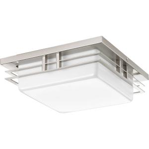 "Helm - 11"" 17W 1 LED Flush Mount"