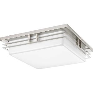 "Helm - 14"" 34W 2 LED Flush Mount"