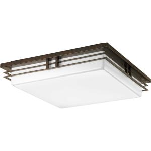 "Helm - 18"" 51W 3 LED Flush Mount"