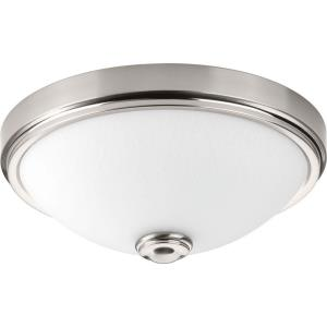 LED Linen - Close-to-Ceiling Light - 1 Light - Bowl Shade in Modern style - 15 Inches wide by 5.88 Inches high