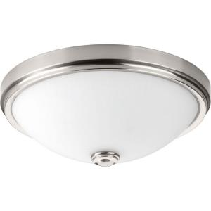 19 Inch 30W 1 LED Round Flush Mount in Modern style - 19 Inches wide by 7.13 Inches high