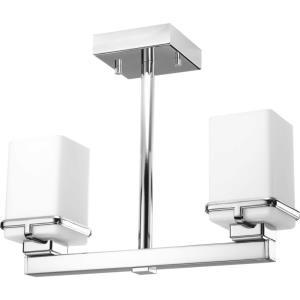 Metric - Two Light Semi-Flush Mount