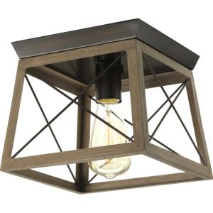 Briarwood - 7.625 Inch Height - Close-to-Ceiling Light - 1 Light - Line Voltage