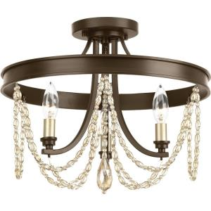 Allaire - Three Light Semi-Flush Mount