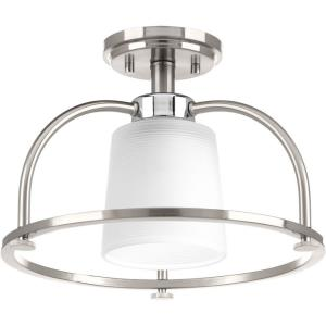 West Village - Close-to-Ceiling Light - 1 Light in Farmhouse style - 13.5 Inches wide by 9.25 Inches high