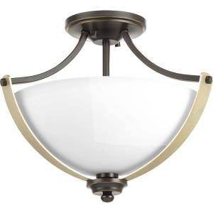 Noma - Two Light Convertible Semi-Flush Mount