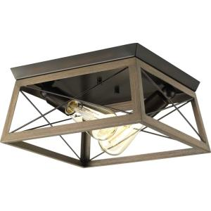 Briarwood - Two Light Flush Mount