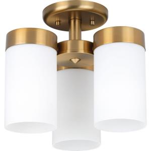 Elevate - Three Light Flush Mount