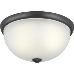 Glass Domes - Two Light Flush Mount