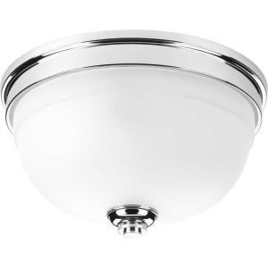 Topsail - Close-to-Ceiling Light - 2 Light - Bowl Shade in Coastal style - 11 Inches wide by 6.25 Inches high