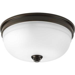 Topsail - Close-to-Ceiling Light - 3 Light - Bowl Shade in Coastal style - 13.63 Inches wide by 6.25 Inches high