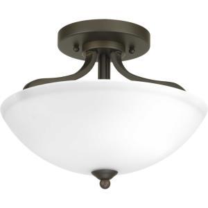 Laird - Two Light Convertible Semi-Flush Mount