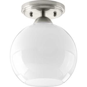 Carisa - One Light Flush Mount