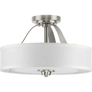 Kene - 2 Light Semi-Flush Mount