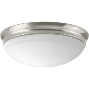 LED Flush Mount - Close-to-Ceiling Light - 1 Light - Globe Shade in Transitional style - 11 Inches wide by 4.25 Inches high