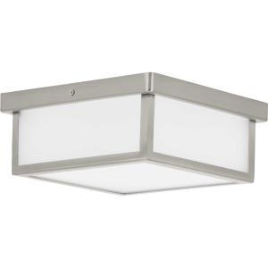 Box - 10.13 Inch 17W 1 LED Square Flush Mount