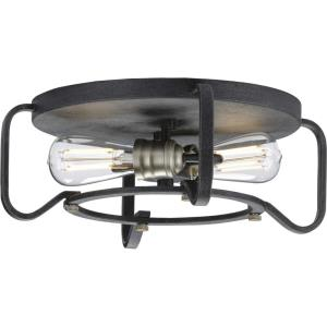Foster - 6 Inch Height - Close-to-Ceiling Light - 2 Light - Line Voltage