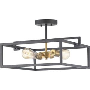 Blakely - Close-to-Ceiling Light - 2 Light in Modern style - 17.25 Inches wide by 9.38 Inches high