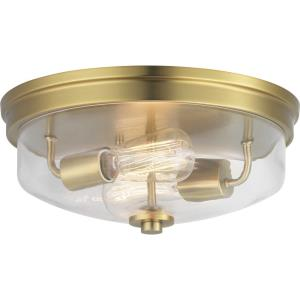 Blakely - 5.75 Inch Height - Close-to-Ceiling Light - 2 Light - Bowl Shade - Line Voltage - Damp Rated