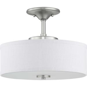 Inspire - 13 Inch 17W 1 LED Semi-Flush Mount
