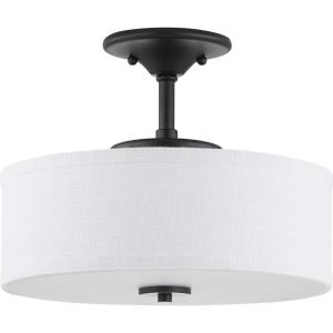 Inspire LED - Close-to-Ceiling Light - 1 Light in Farmhouse style - 13 Inches wide by 10.63 Inches high
