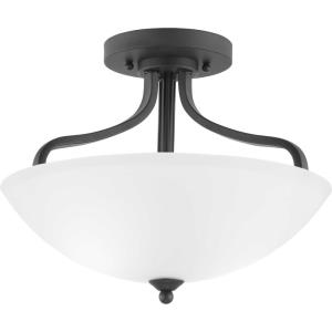 Laird - Close-to-Ceiling Light - 3 Light - Bowl Shade in Transitional and Traditional style - 15.63 Inches wide by 11.75 Inches high