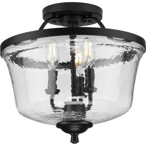 Bowman - 3 Light Semi-Flush Mount