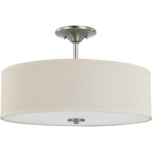 Inspire - 3 Light Semi-Flush Mount