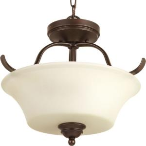 Applause - Two Light Convertible Semi-Flush Mount