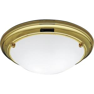 Eclipse - Two Light Flush Mount