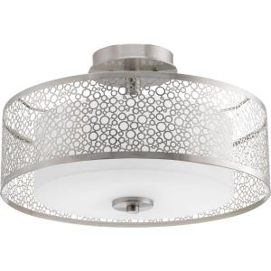 Mingle - Two Light Semi-Flush Mount