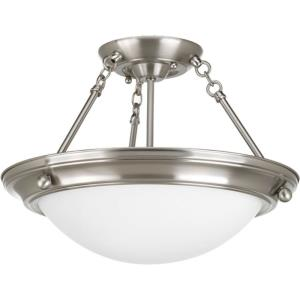 Eclipse - Two Light Semi-Flush Mount