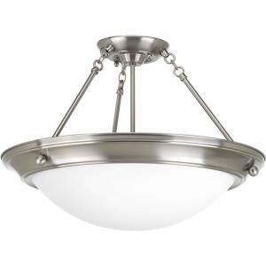 Eclipse - Three Light Semi-Flush Mount
