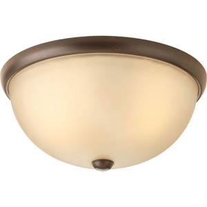 Random - Two Light Flush Mount