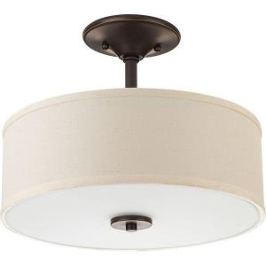 "Inspire - 13"" 17W 1 LED Semi-Flush Mount"