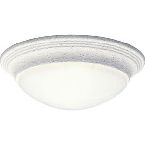 One-Light Close-To-Ceiling Fixture