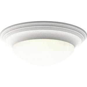 Canyon Ridge Transitional/Traditional 3 Light Ceiling Fixture Ceramic/Steel