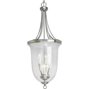 Seeded Glass - 6 Light 2-Tier Foyer