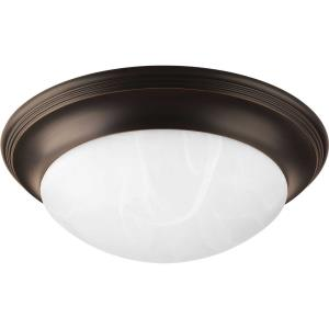 "Melon - 5.5"" Two Light Flush Mount"