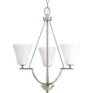 Bravo - Chandeliers Light - 3 Light in Modern style - 18 Inches wide by 21.5 Inches high