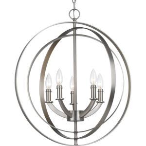 Equinox - 24.4375 Inch Height - Pendants Light - 5 Light - Line Voltage
